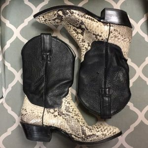 Shoes - Snake Skin Boots